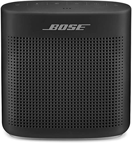 Bose SoundLink Color II: Portable Bluetooth, Wireless Speaker with Microphone- Soft Black