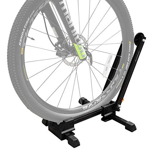 Bike Stands for Storage, Foldable Floor Bike Stand Portable Bicycle Storage Holder, Home Garage Cycling Storage Organizer Cycle Tires Rack Holder for Mountain and Road Bike