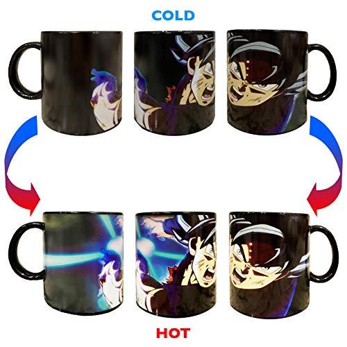Monuva DBZ Goku Blast Energy Attack Heat Sensitive Magic Changing Mug