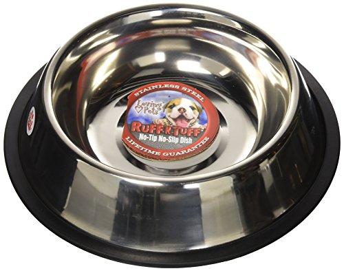 Loving Pets Standard No-Tip Dog Bowl, 64-Ounce