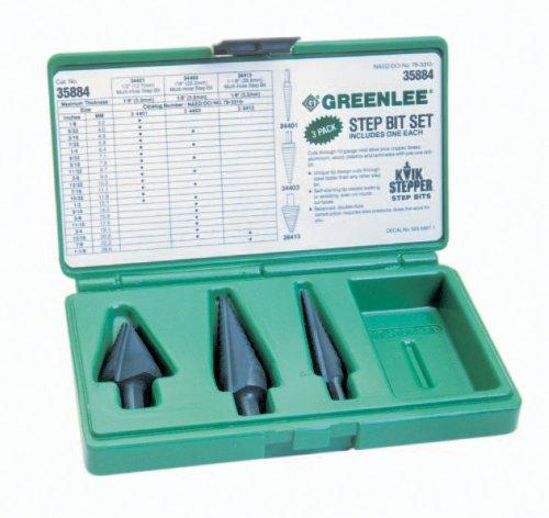 Greenlee 35884 STEP BIT KIT