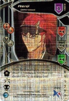 Bleach Trading Card Game Promo Foil Card Renji Determined