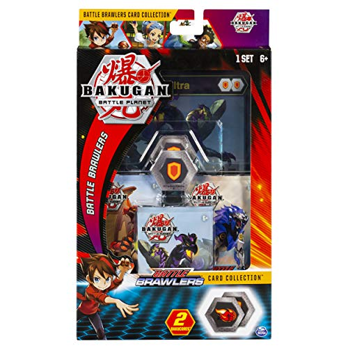 Bakugan, Deluxe Battle Brawlers Card Collection with Jumbo Foil Nillious Ultra Card, for Ages 6 and Up