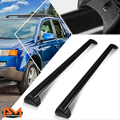Compatible with Saturn Vue 02-07 OE Style Aluminum Roof Top Rail Rack Crossbar Baggage Carrier