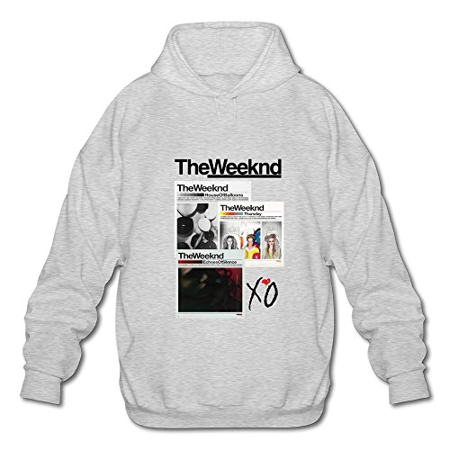 HUBA Men's Sweater The Weeknd House Of Balloons-echoes Silence Ash Size S
