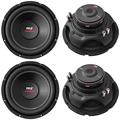 Pyle PLPW15D 15' 8000W Car Subwoofers Audio Power Subs Woofers DVC 4 Ohm