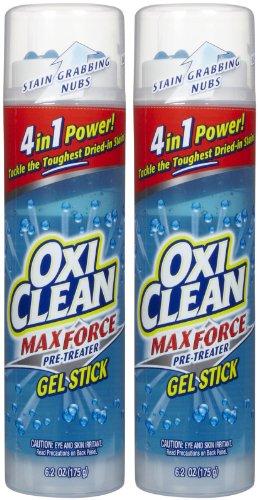 OxiClean Gel Sticks - 6.2 oz - 2 pk