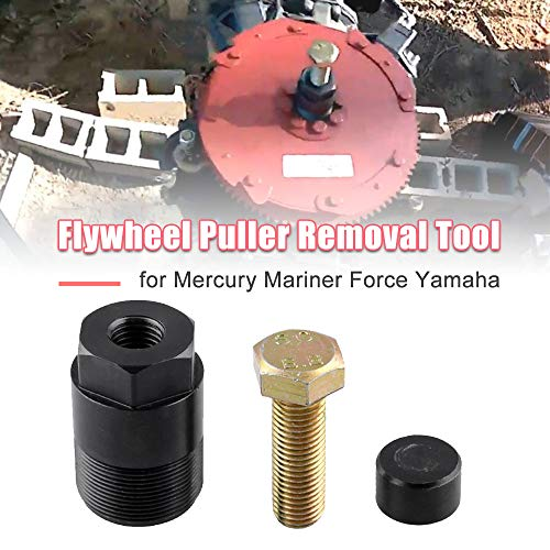 Sporacingrts Outboard 1 1/2' -16 Flywheel Puller Removal Tool for Mercury Mariner Force Yamaha