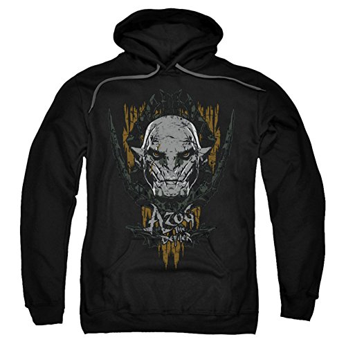 Hoodie: The Hobbit: The Battle of the Five Armies - Azog Pullover Hoodie Size XL