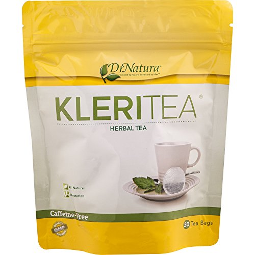 DrNatura Kleritea, a Rich Herbal-Fusion of 12 Carefully-Selected Ingredients, 30 Day Supply (30 Tea Bags)