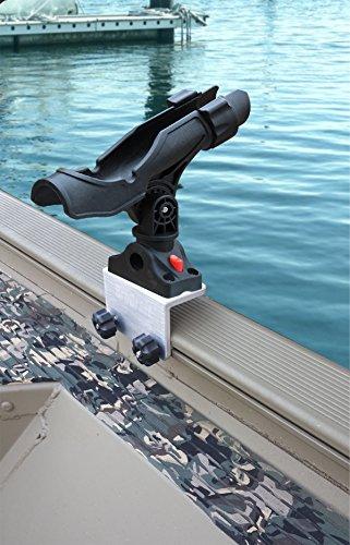 Brocraft Power Lock Rod Holder for Tracker Boat Versatrack System---Versatrack Accessories
