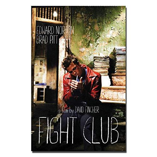 Fight Club Brad Pitt Classic Gift Art Poster - No Frame(24 x 36)