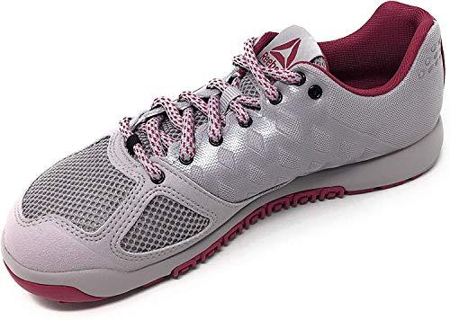 Reebok Womens Crossfit Nano 2.0 Training Shoe, Lavender Luck/Twisted Berry, 8 M US