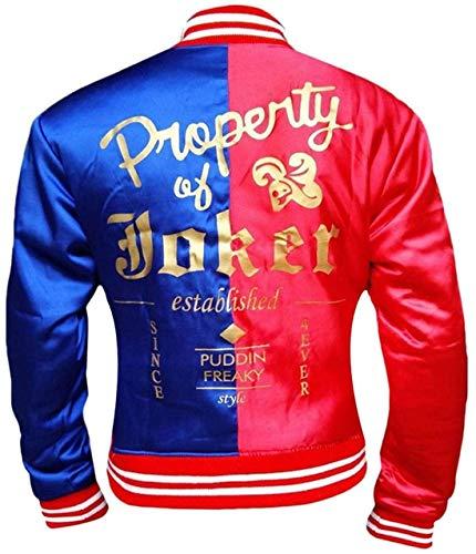 Property of Joker Harley Quinn Birds of Prey Jacket - Halloween Idea (XL)
