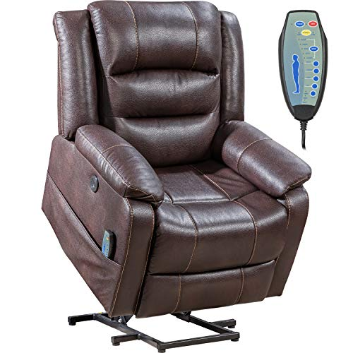 Lift Chair for Elderly Massage Chair Lift Chair Power Recliner Recliner Electric Recliner Wall Hugger Recliner Chair Living Room Chair with Remote Control