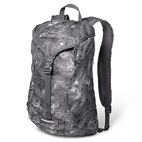 Eddie Bauer Unisex-Adult Stowaway Packable 20L Ruck Pack, Gray Regular ONE Size