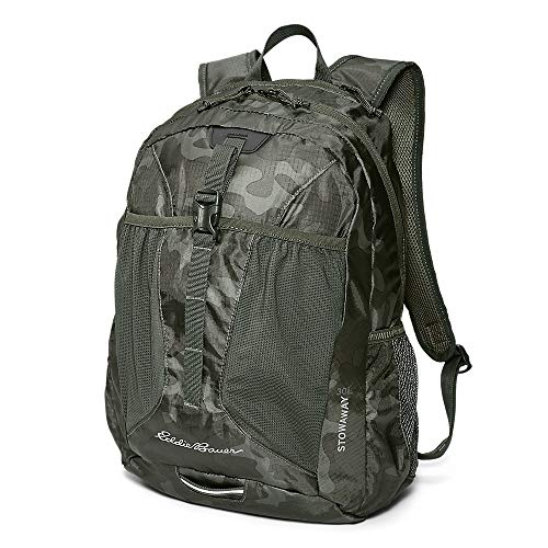Eddie Bauer Unisex-Adult Stowaway Packable 30L Pack, Camo Regular ONE Size