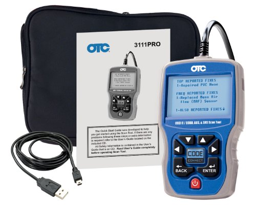 OTC (3111PRO) Trilingual Scan Tool OBD II, CAN, ABS And Airbag