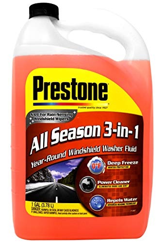 Prestone AS658P All Season 3-in-1 Year Round Windshield Washer Fluid