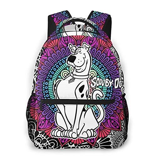 Backpack Sco-Oby-Doo School Backpack Travel Bookbag Lightweight, Casual Daypack For 15.6' Laptop