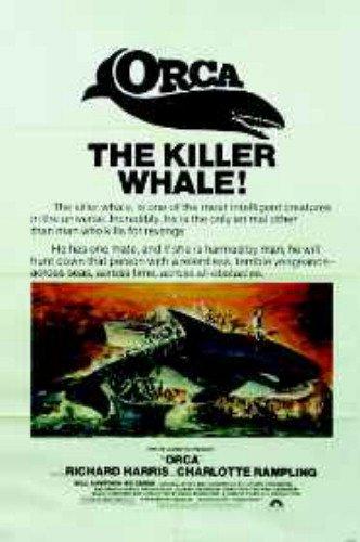 Orca Richard Harris Charlotte Rampling Original Movie Poster