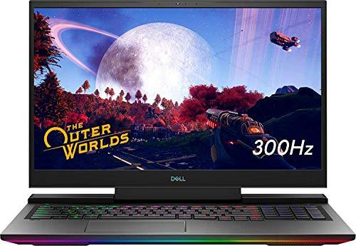 Dell G7 17.3' FHD 300Hz Widescreen LED Gaming Laptop | Intel Core i7-10750H Processor | 32GB RAM | 1TB SSD | NVIDIA GeForce RTX 2070 | RGB Keyboard | Windows 10 Home | Black