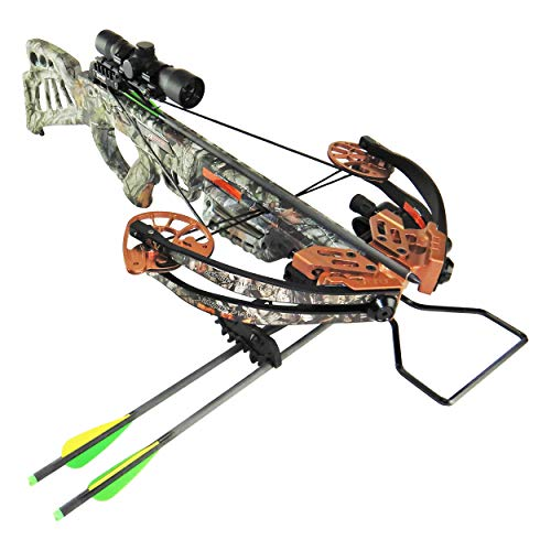 SA Sports Empire Diablo Reverse Cam Compound Crossbow Package, 185 Pound Draw, 385 Feet per Second