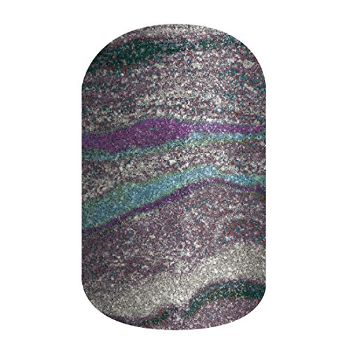Jamberry Nail Wraps ~ Grey Agate ~ Half Sheet