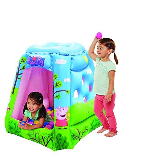 Peppa Pig Ball Pit, 1 Inflatable & 20 Sof-Flex Balls, Blue/Green, 37'W x 37'D x 34'H