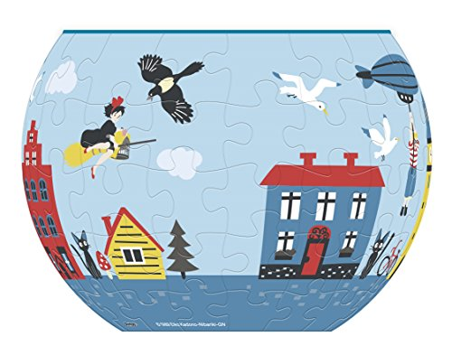 Ensky Kiki's Delivery Service Town of Koriko Puzzle Bowl (AT8-03) - Official Studio Ghibli Merchandise