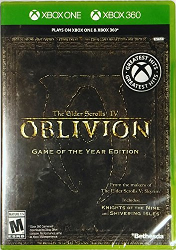 The Elder Scrolls IV Oblivion (Xbox One / Xbox 360) [Game of the Year GOTY Edition]