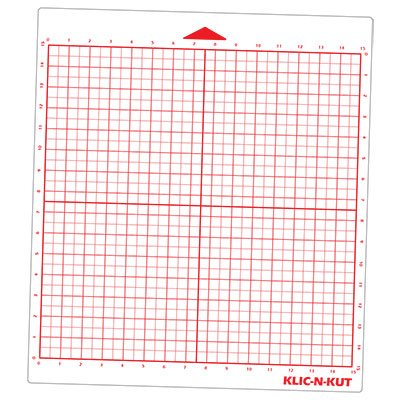 KNK Force 15' x 15' Red grid mat