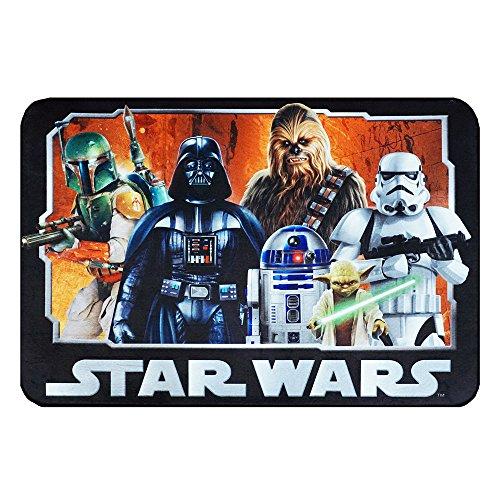 Star Wars Rug HD Digital ep 5 Darth Vader, Yoda, Chewbacca, R2D2 Bedding Wall Decals Area Rugs, 40' x 54', Standard