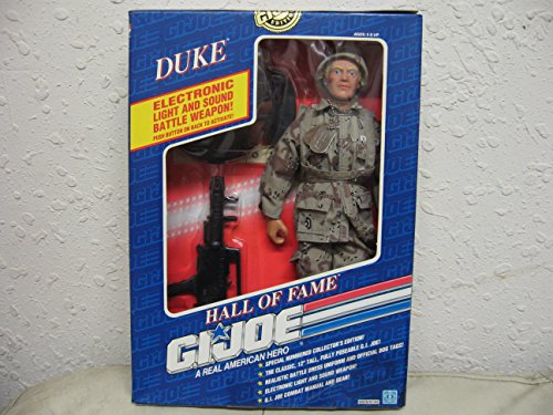 G.I. Joe Duke with Electronic Sonic Fighter Weapon 12' Action Figure [Toy]