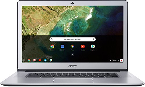 Acer Chromebook 15 CB515-1HT-P39B, Pentium N4200, 15.6' Full HD Touch, 4GB LPDDR4, 32GB Storage, Pure Silver