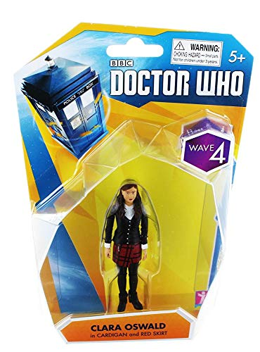 Seven20 Doctor Who 3.75' Action Figure: Clara Oswald (Cardigan/ Red Skirt)