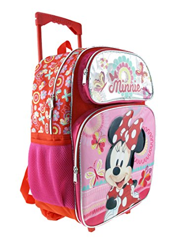 Minnie Mouse Large Rolling 16' Backpack - A13559