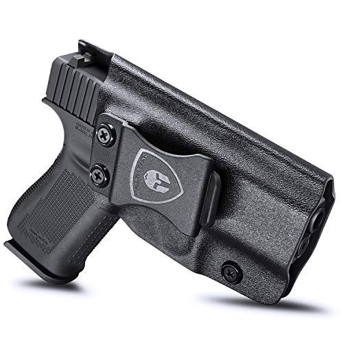 Glock 43 Holster, IWB KYDEX Holster Fit: Glock 43 / Glock 43X Pistols, Inside Waistband Holster Concealed Carry for Men / Women, Glock 43X Holster, Adj. Cant & Retention, Right Hand Draw