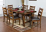 Sunny Designs Tuscany Dining Table with with Turn Buckle