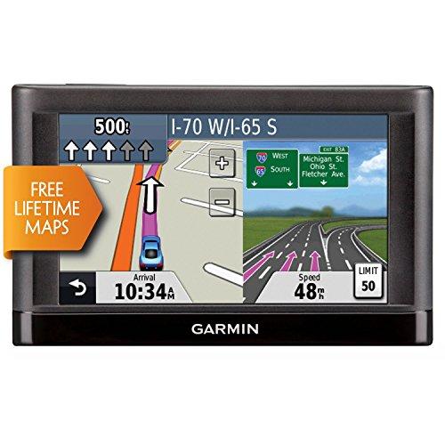 Garmin Nuvi 55LM 5' Touchscreen Car Sat Navigation GPS w/Lifetime Maps 0119-801 (Renewed)