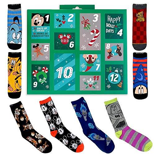 Disney Holiday Advent Sock Calendar for Men