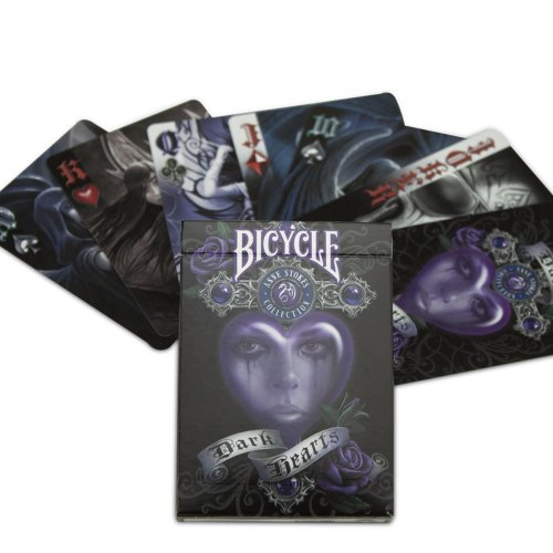 USPCC Anne Stokes II Dark Hearts Playing Cards - 1 Deck