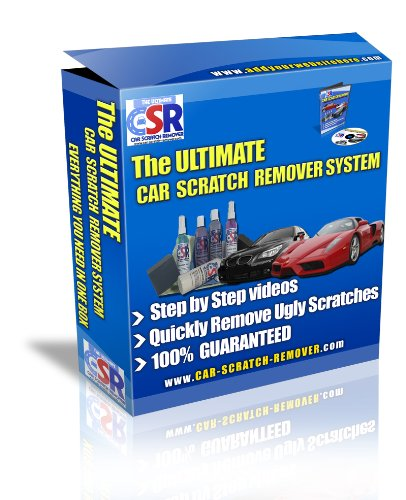 The Ultimate Car Scratch Remover Kit - Safest Way to Remove Clear Coat Scratches. It's All in The Box - Nothing Else Needed for Professional Results.