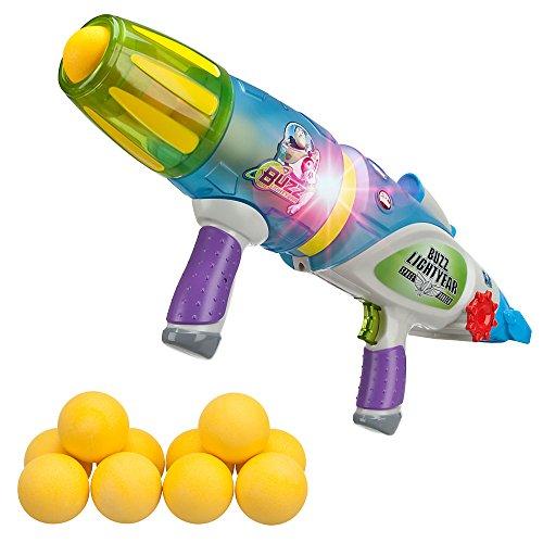 Disney Pixar Buzz Lightyear Glow-in-The-Dark Blaster