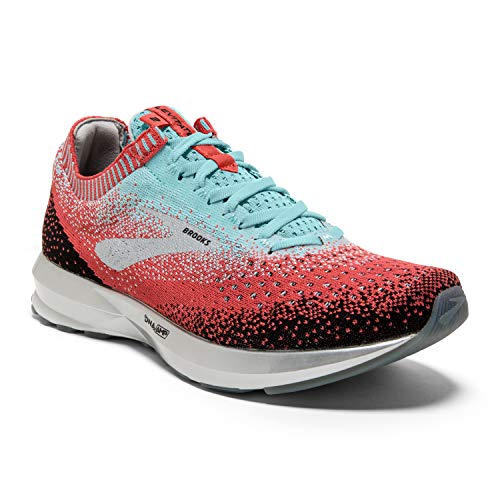 Brooks Women's Levitate 2, Coral/Blue, 9.5 B