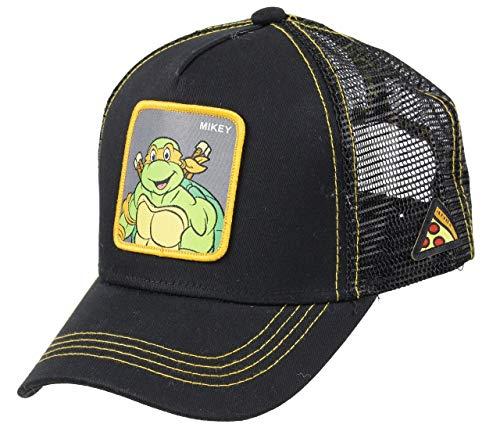 Capslab Michelangelo Trucker Cap Teenage Mutant Ninja Turtles Black - One-Size