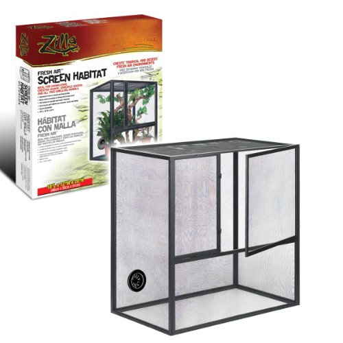Zilla Fresh Air Screen Habitat for Reptiles