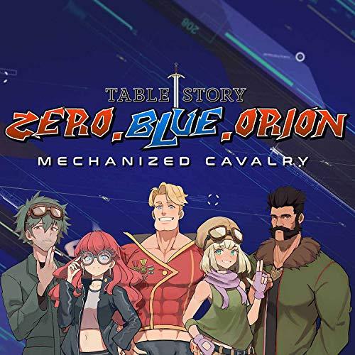 Zero.Blue.Orion - Mecha Lancer RPG Actual Play