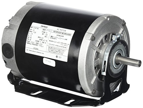 Century formerly AO Smith GF2054 1/2 hp, 1725 RPM, 115 volts, 48/56 Frame, ODP, Sleeve Bearing Belt Drive Blower Motor