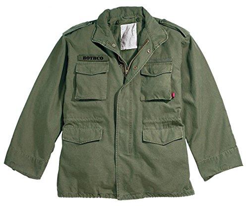 Rothco Vintage M-65 Field Jacket, Olive Drab, 3X-Large